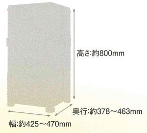 森永コンビニボックス サイズ