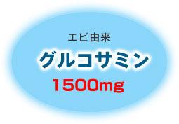 グルコサミン 1500mg