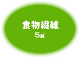 食物繊維5g