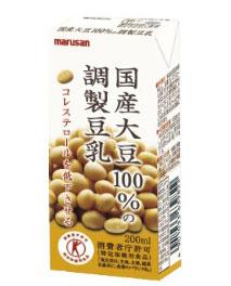 国産大豆100%の調整豆乳 - emc00054