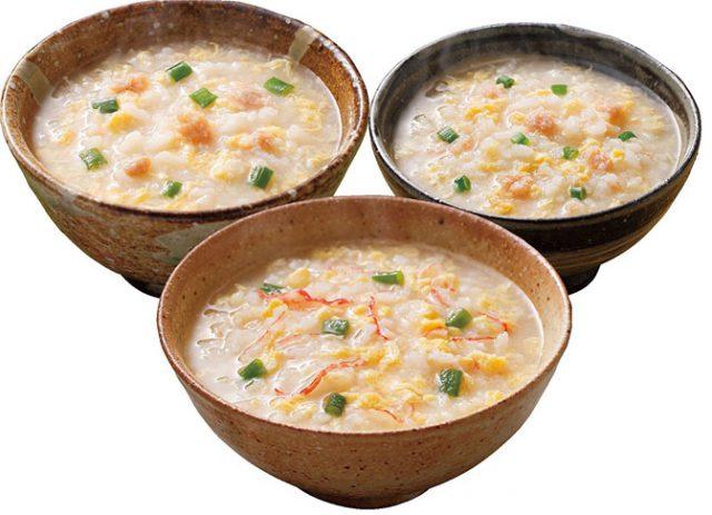 炙り海鮮雑炊 3種セット